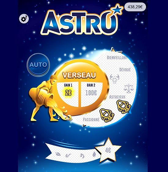 victoire sur le ticket Astro avec le verseau