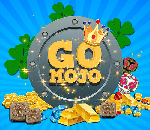 Go Mojo logo de la pateforme de jeux