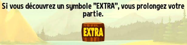 la partie Extra