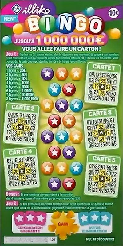nouveau Bingo FDJ