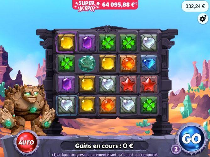 Rocks Glory le jeu FDJ Super Jackpot
