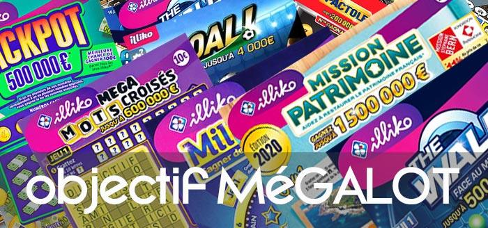 sélection jeux pour décrocher Méga gros lot