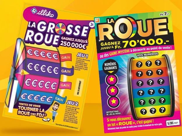 Similitude entre le jeu La Roue Suisse et La Grosse Roue France