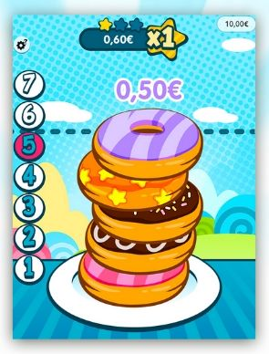 aperçu du jeu Pile Up Donuts