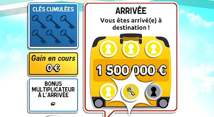 Obtenir 1 500 000 € avec 6 clés