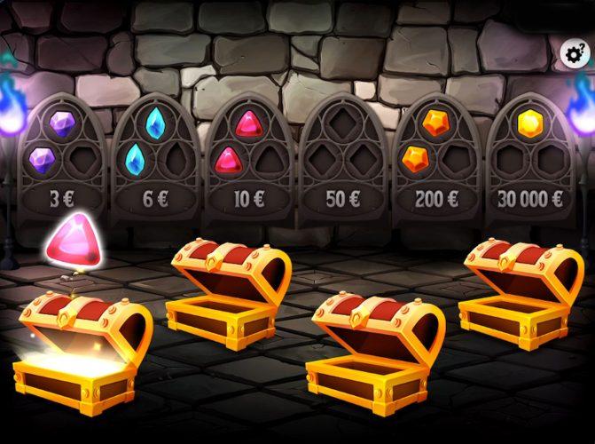 Ouverture des coffres sur Défense Magique