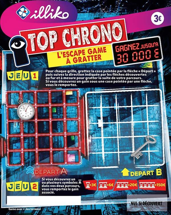 le ticket FDJ Top Chrono