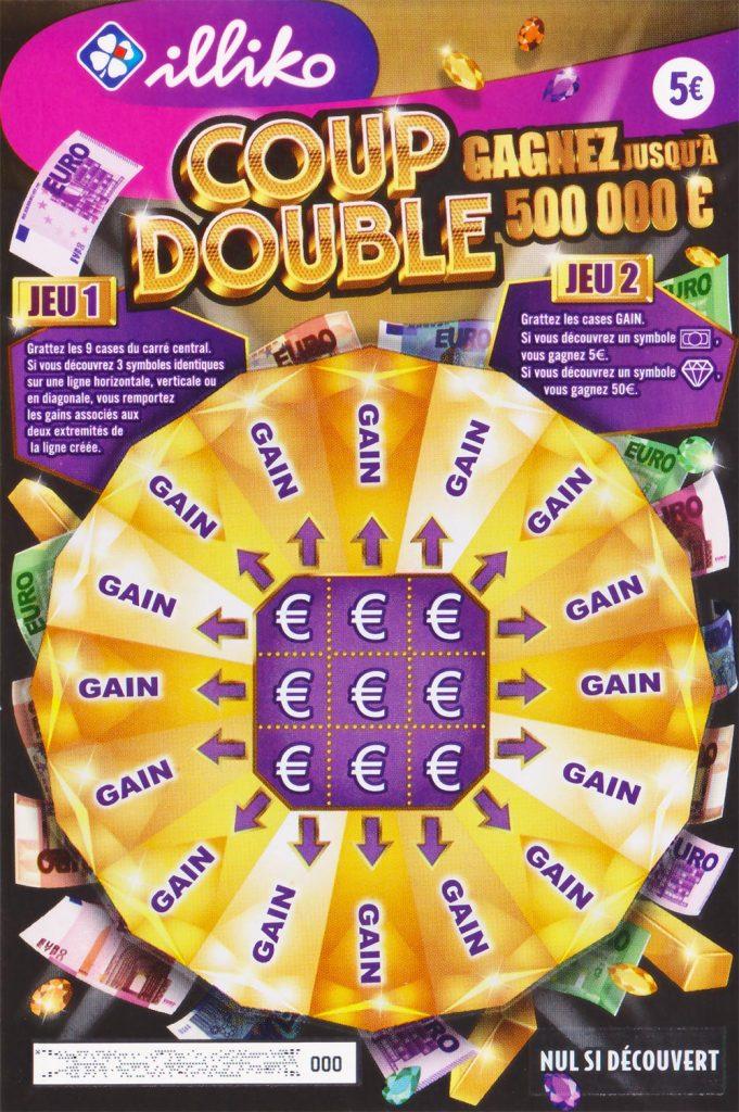 le jeu FDJ Coup Double