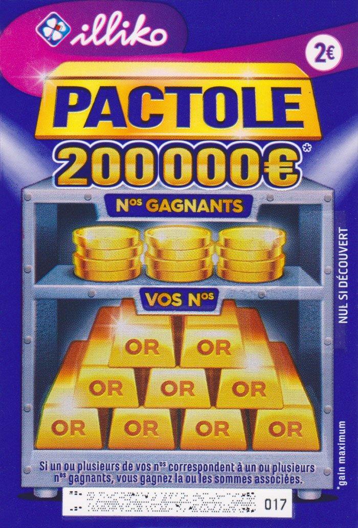 ticket FDJ Pactole
